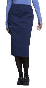 Cherokee Workwear Professionals WW510 Knit Waistband Skirt