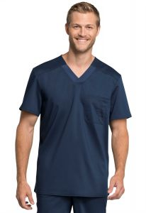 Cherokee Workwear Revolution Tech WW755AB Men's V-Neck Top