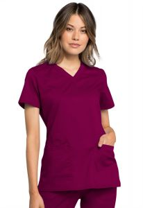 Cherokee Workwear Revolution Tech WW770AB V-Neck Top