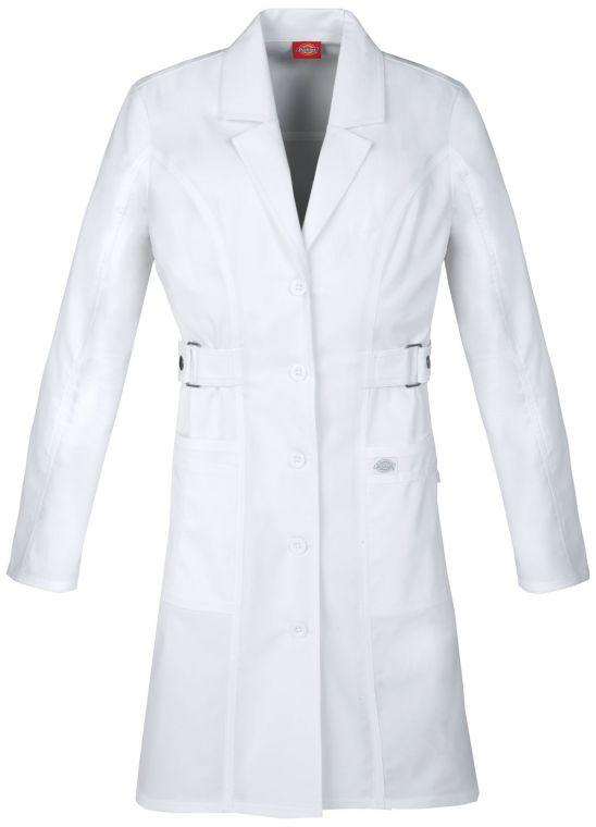 Dickies Scrubs GEN FLEX Women/'s Youtility Button Front 36 Inch Lab Coat 82410